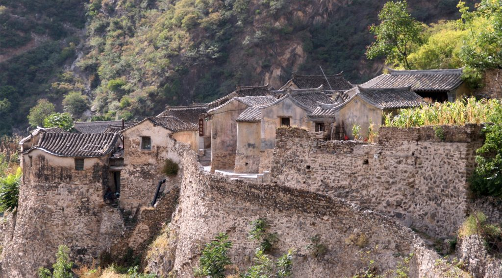 Old Traditional Houses Chuandixia
