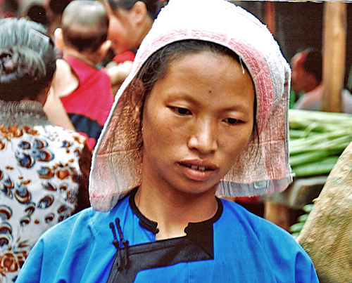 dong minority at Rongjiang Market 榕江市场 Guizhou Province 贵州省