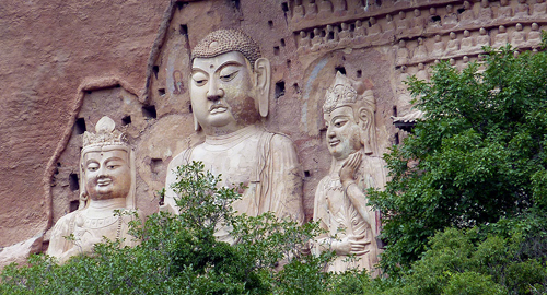 Tianshui 天水: An Early Arrival Meiji Shan