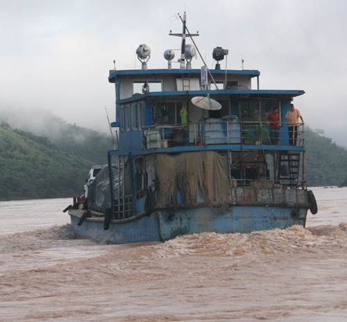 Thailand to China by Boat Mekong Scenery