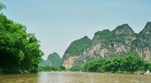 Zuo Jiang River Scenery