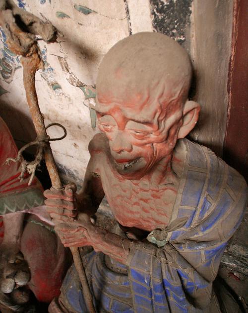 Statue Cangyan Shan