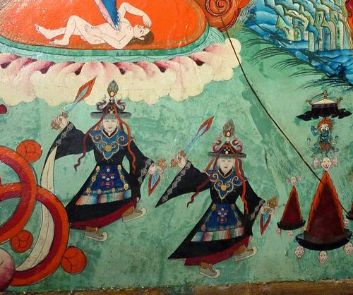 Dagei Gompa大金寺  Monasteries around Ganzi
