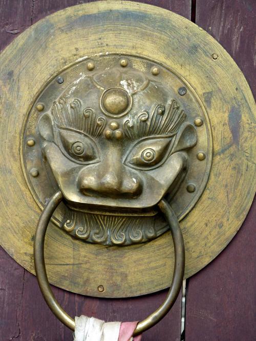 door Beri Gompa of the Gelukpa Sect