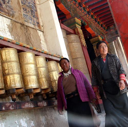 Den Monastery Den Gompa Ganzi