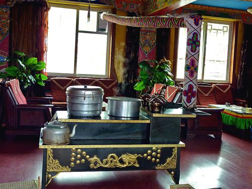 Tibetan cafe Ganzi