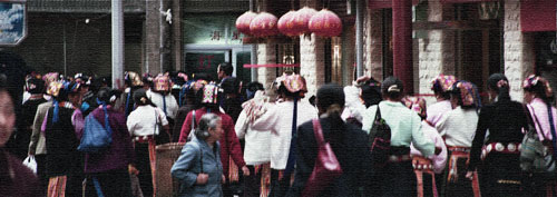 Kangding Street scene 2004