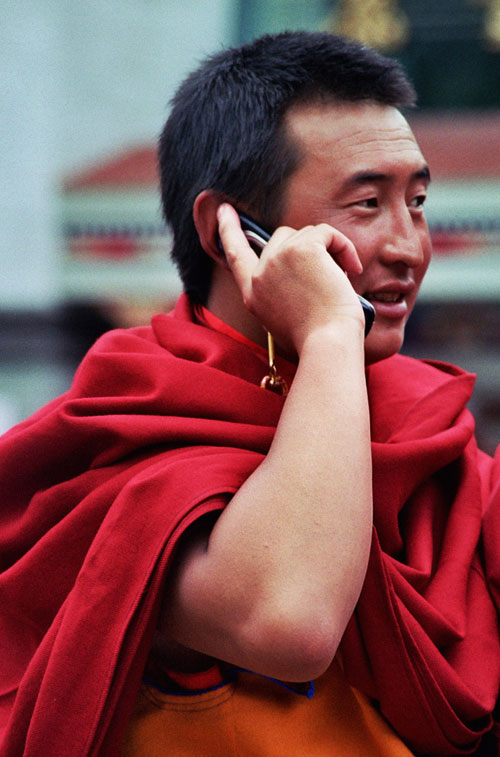 mobile monk Kangding