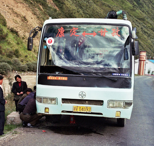 Ganzi to Kangding to Chengdu