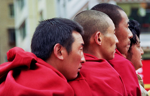 Tibetan Monks Kangding