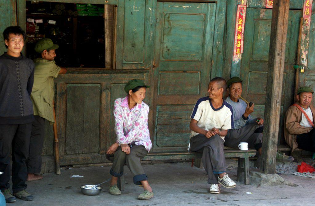 Bingzhongluo Locals