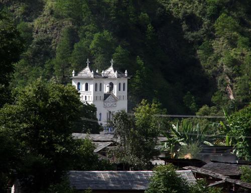 Cathoolic Church Dong Feng Tibetan Village