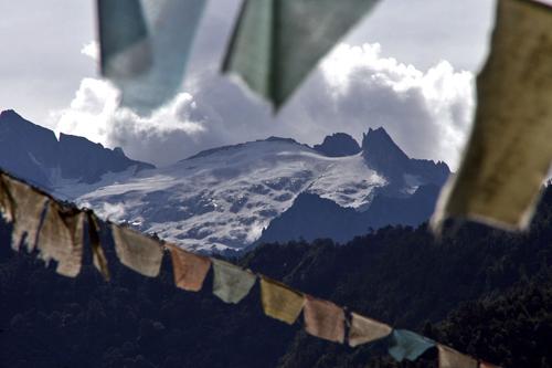 Snow Mountain Dong Feng Tibetan Village