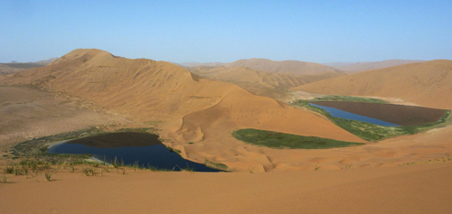 Badain Jaran Desert,