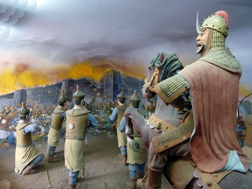 Mongol destruction of the Xi Xxia Kingdom