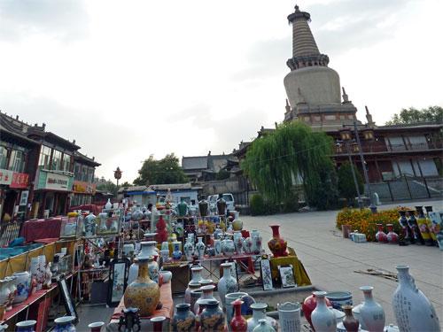 A Few Days in Zhangye: Zhangye Market