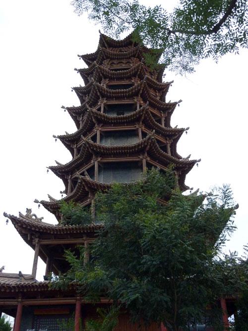 Zhangye Main Square Pagoda