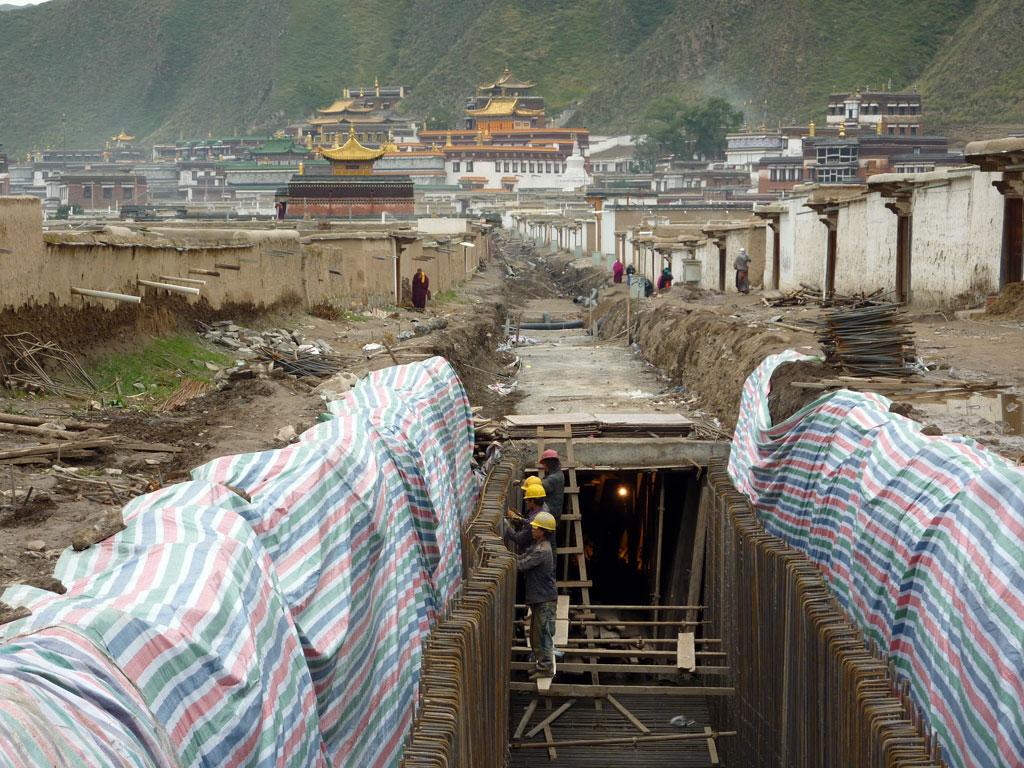 Xiahe under going modernisation