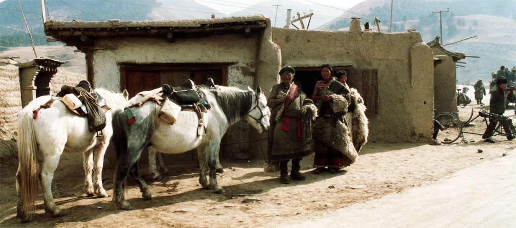 Life in Xiahe 1990