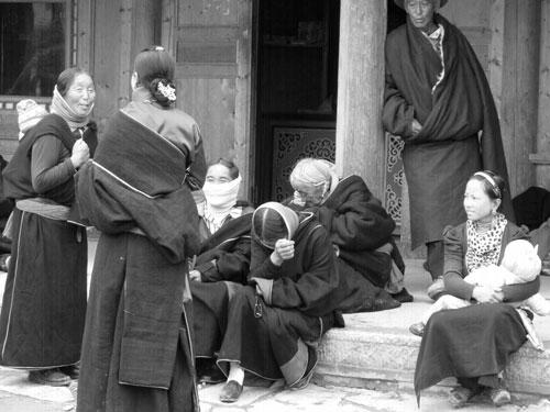 Labrang Monastery pilgrims