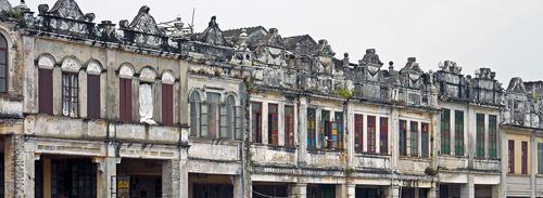 Qilou Buildings Chikan
