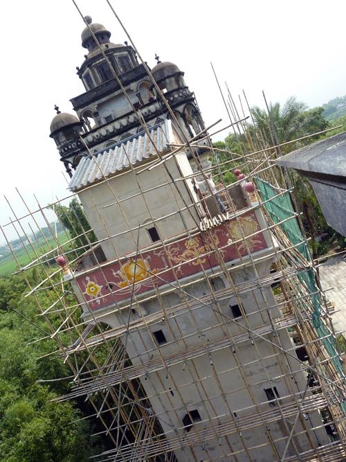 Restoring in Jinjiangli 锦江里
