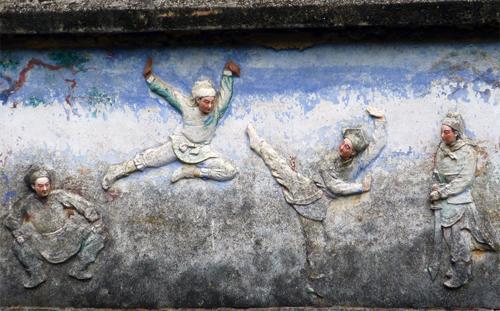 Amazing Carvings at Fei Xia
