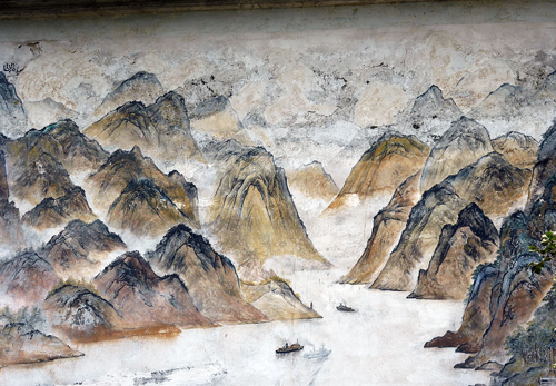Old Mural at fei Xia