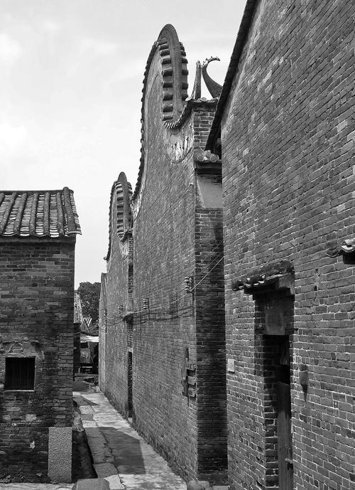 Old Street In Licha Cun