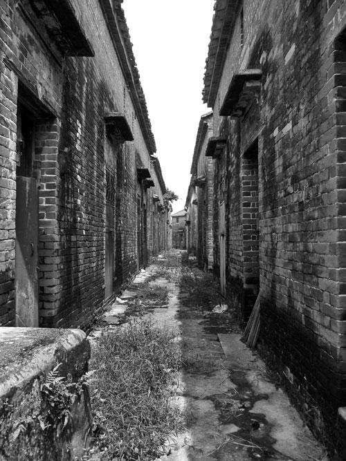 Abandoned Street in LiCha Cun