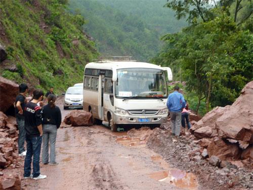 Be careful of Landslides