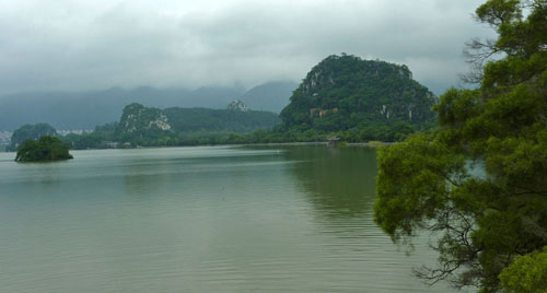 Zhaoqing Not bad for the city centre