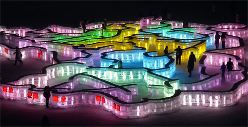 The Ice Maze