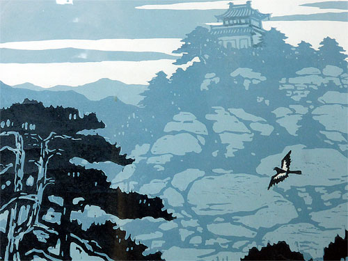 Li Qun Wood Cut