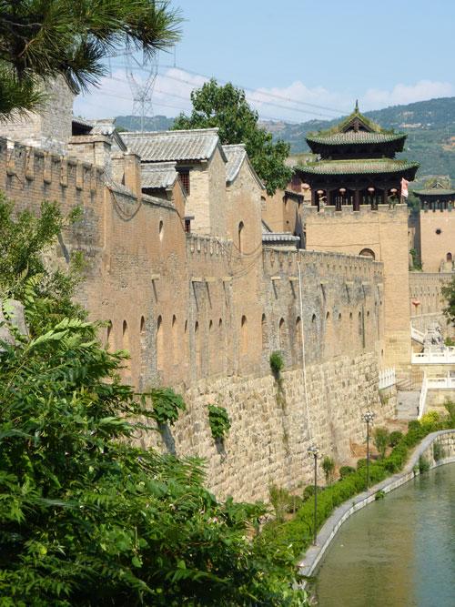 Old Castle town near Jincheng