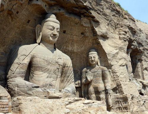 Yungang Caves nearDatong