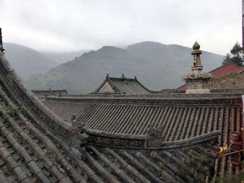 Temple  Land at Wutai Shan