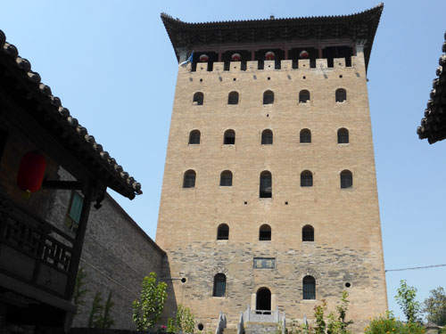 Watch Tower at the ancient village of Guoyu
