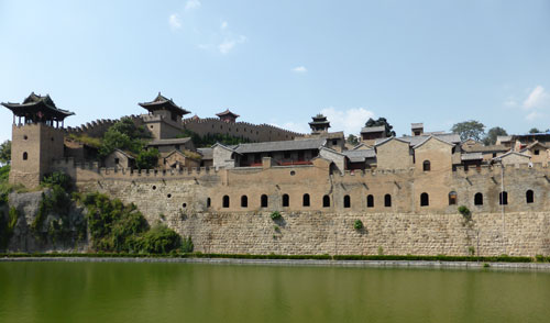 Ancient walled Castle Towns near Jincheng