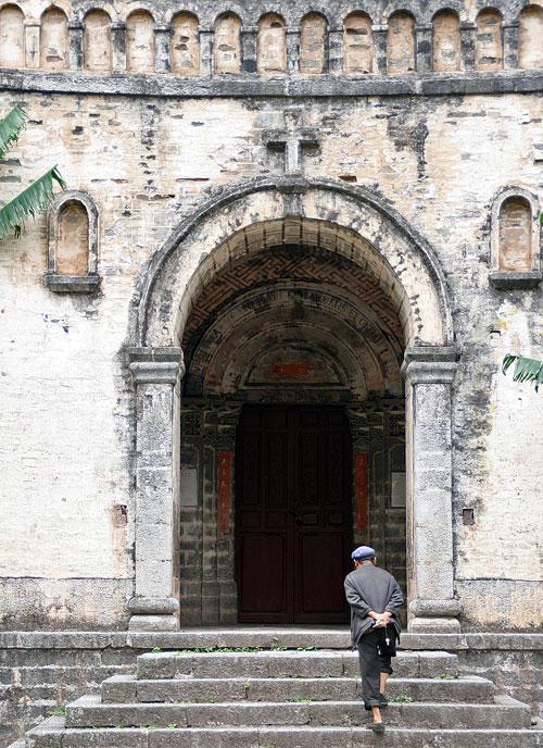 Cizhong 茨中 Yunnan Mekong Valley church