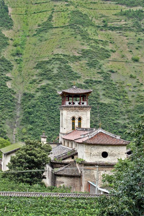 Cizhong Church Cizhong 茨中 Yunnan