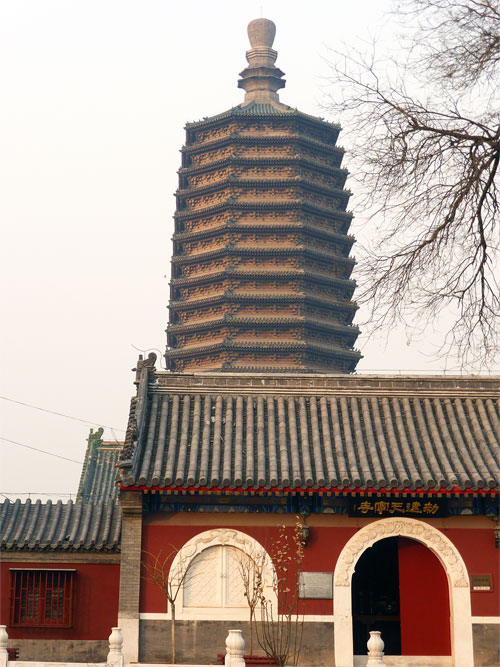 Tiannng Temple and Pagoda 天宁寺塔