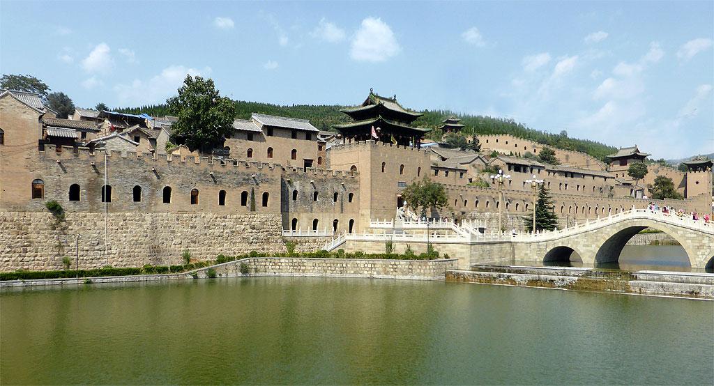 Moat and Bridge Xiangyu Castle 湘峪古堡