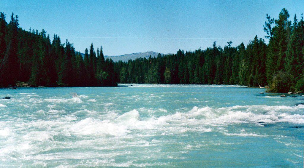Lake Kanas / Ha na si hu 哈纳斯湖