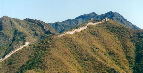 Huanghua Cheng 黄花城 Walking the Wild Wall: 2001