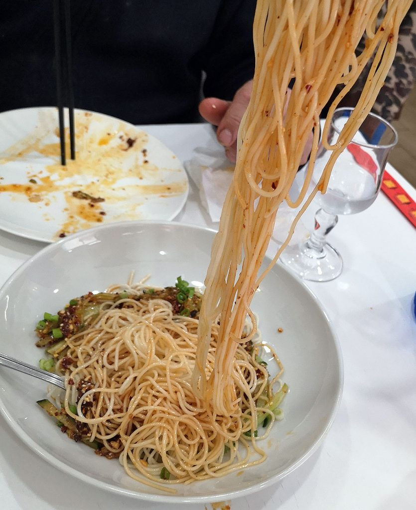 Authentic Sichuan Food in Madrid
