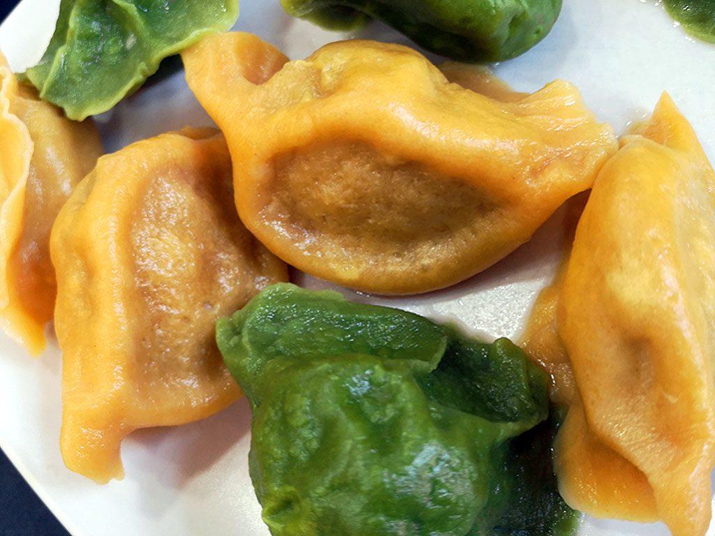 Meat and Vege dumplings Tres cerditos