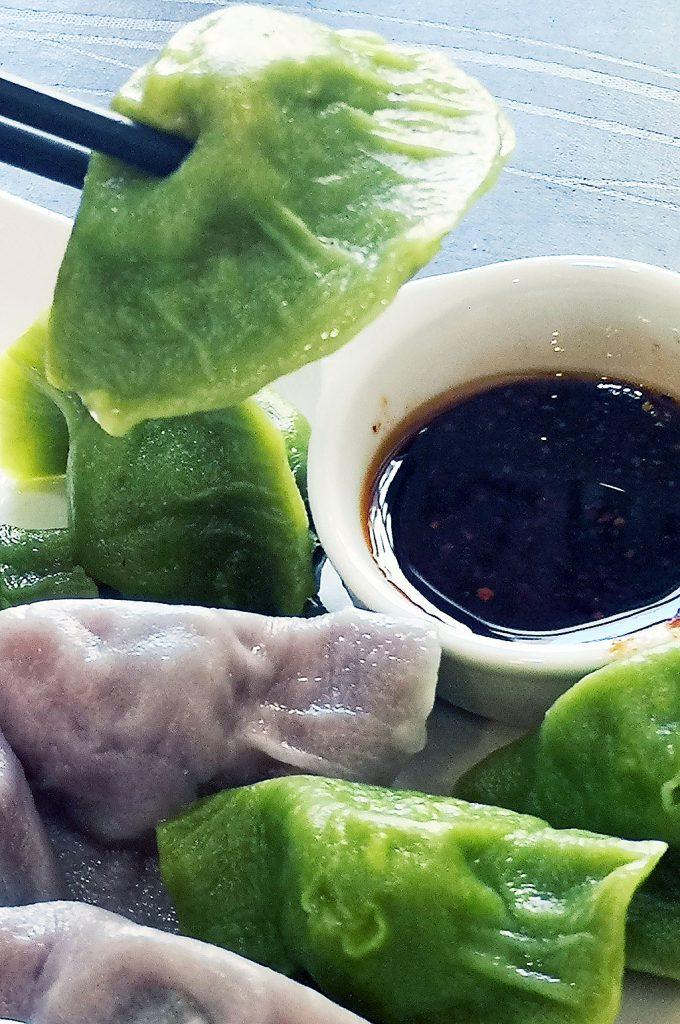 Prawn and Vege dumplings
