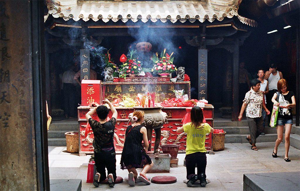 Confucian temple Fuwen Miao  Quanzhou