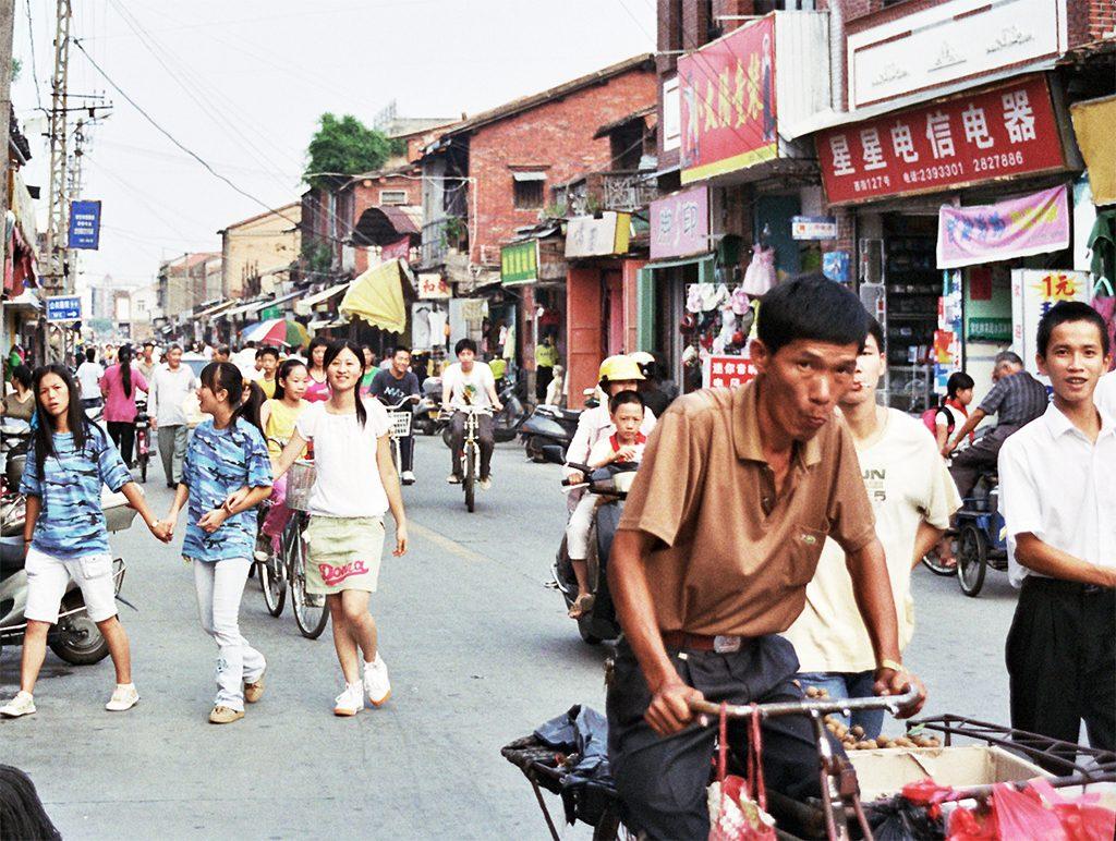 busy Street Quanzhou